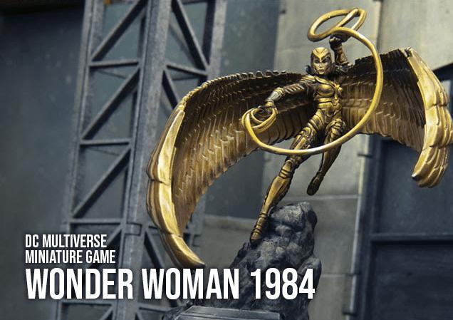 DC Multiverse Miniature Game Wonder Woman 1984