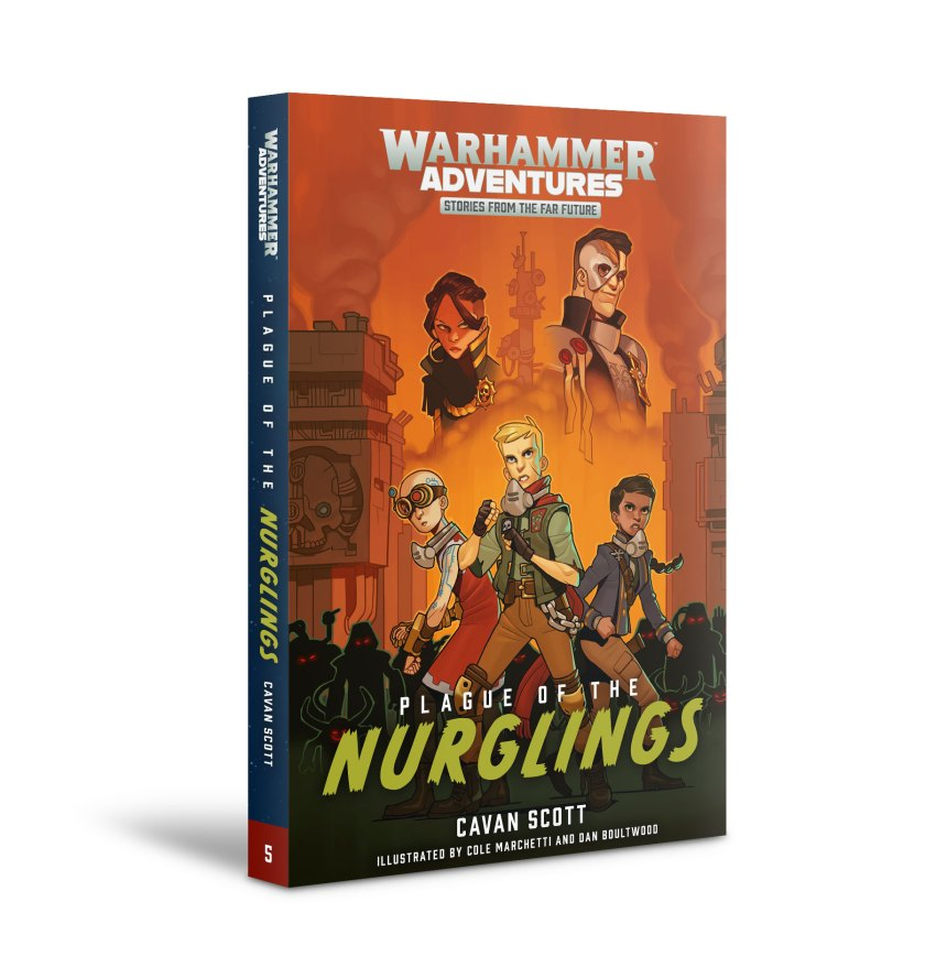 Plague of the Nurglings: Book 5
