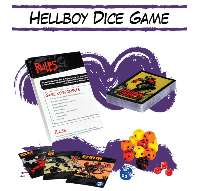 Hellboy: The Dice Game