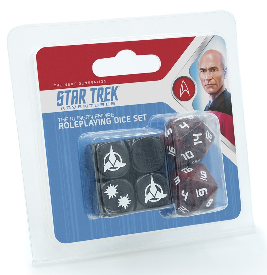 The Klingon Empire Roleplaying Dice Set