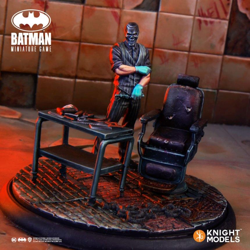 Batman Miniature Game Black Mask