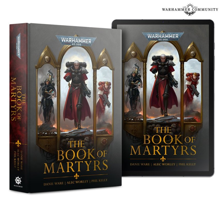 Sisters of Battle: The Book of Martyrs