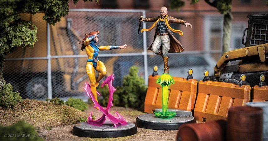 Marvel: Crisis Protocol Jean Grey and Cassandra Nova