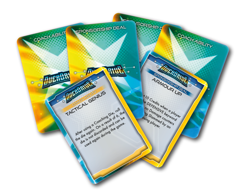 Coach Abilities and Sponsorship Cards