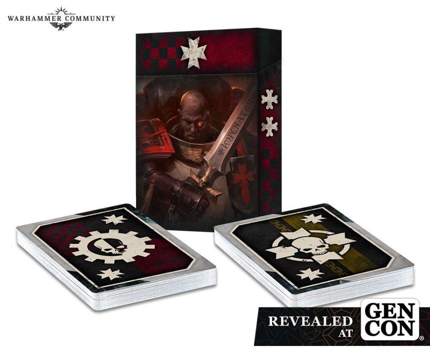 Black Templars Army Set Datacards