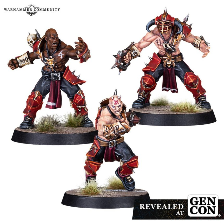 Skull-tribe Slaughterers Bloodborn Marauder Linemen