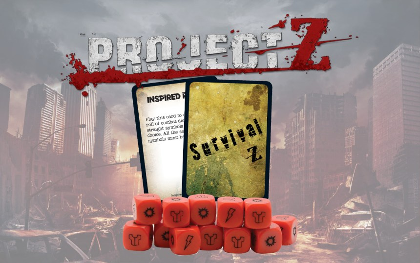 Project Z: Red Dice Pack