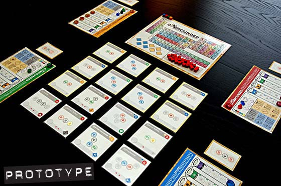 Compounded game in play