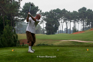 Koen, playing a round of golf - Palheiro Golf Club, Madeira