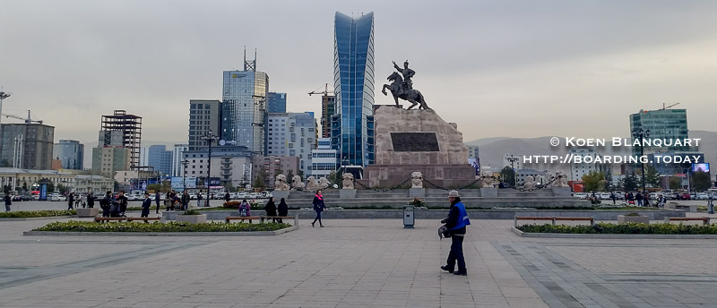 Chinggis Square, the main square of Ulan Bator (UB) - Visit Mongolia 2016