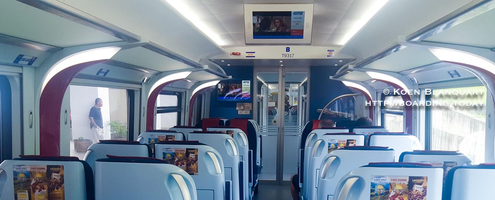 Kuala Lumpur to Singapore by train