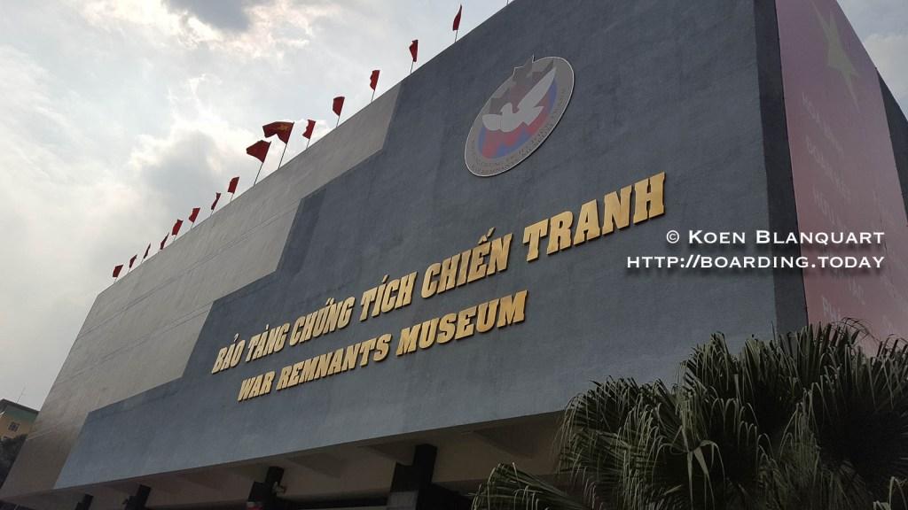 The war remnants museum - Saigon|Ho Chi Minh City