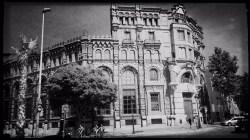 Barcelona in Schwarzweiß Reiseblog Im Schatten des Windes Boarding Completed19
