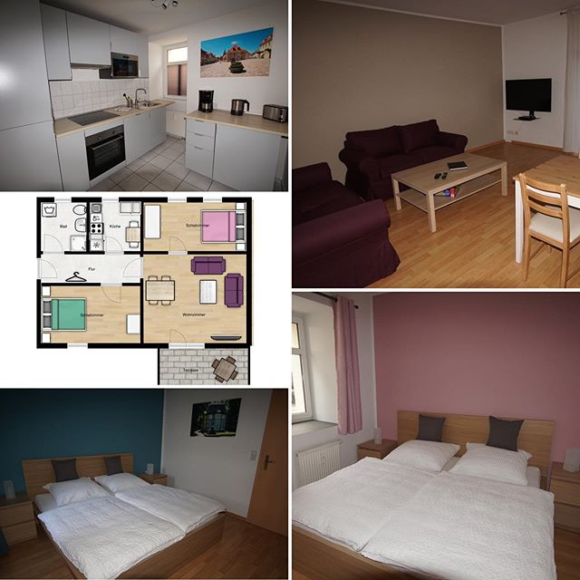 Apartment B ist fertig eingerichtet und steht ab sofort zur Verfügung #boardinghouseammarkt #badlauchstädt #goethestadtbadlauchstädt #vermietung #ferienwohnung #apartmentsbadlauchstädt