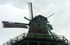 Working windmill at Zaanse Schanse