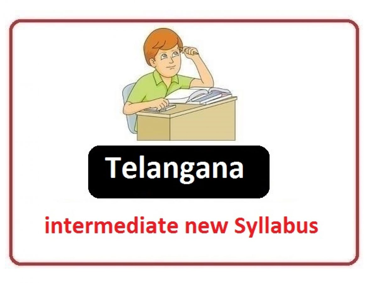 TG Inter Syllabus To Be Set As It Is Without Changes