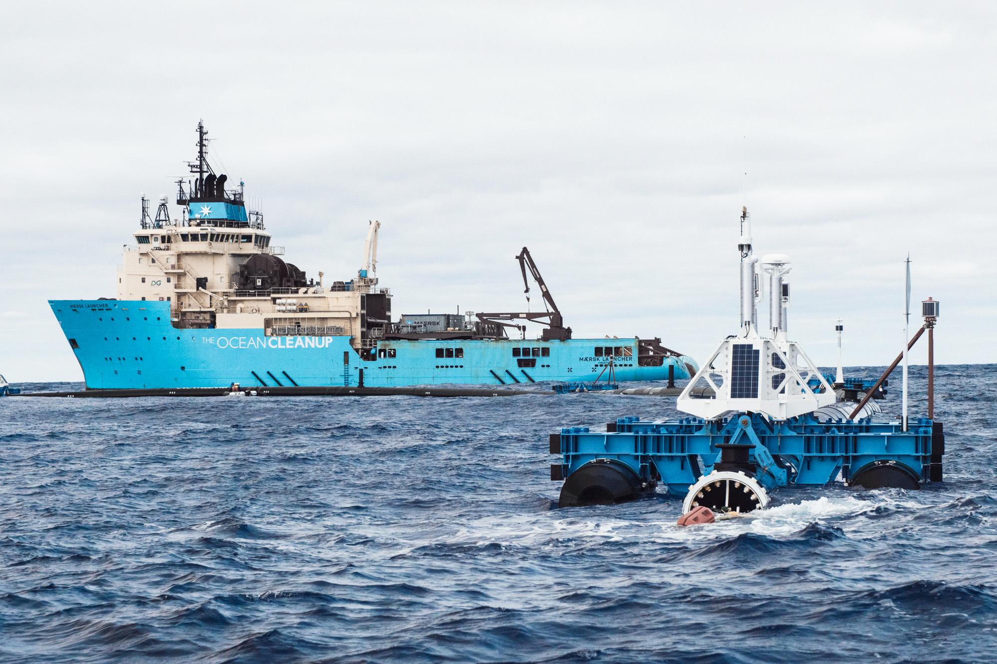 Ocean Cleanup malfunzionamento e imprevisti: è rischio fallimento