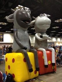 It's Bob & Angus!