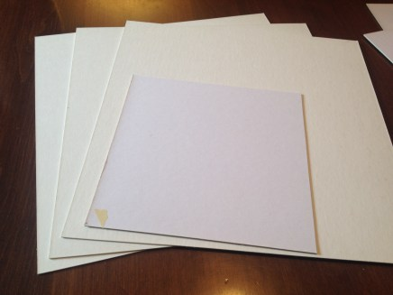 Pieces of Matte Board