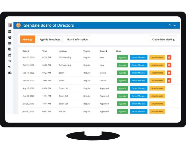 volunteer board management software