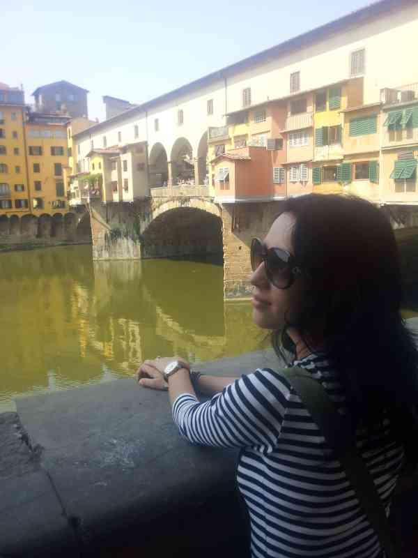 Florence golden bridge