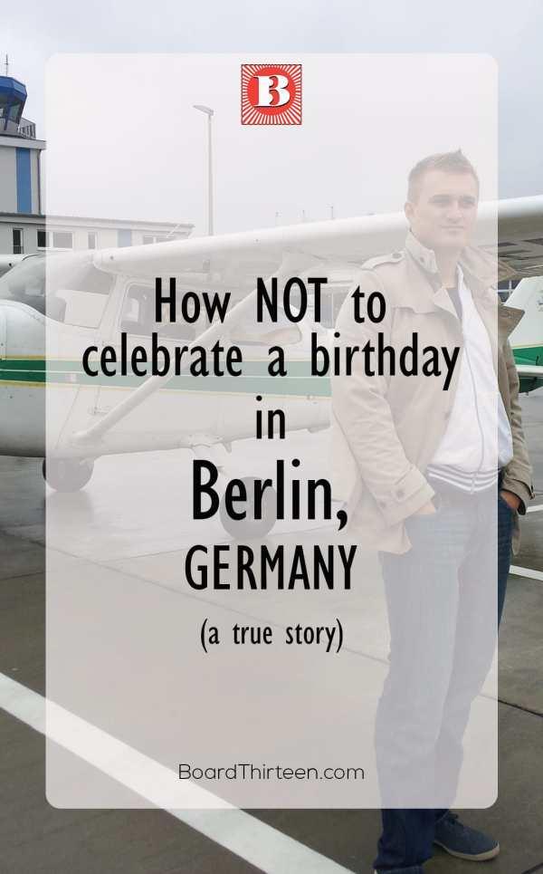 Pinterest Birthday ideas Berlin