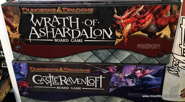 Dungeons and Dragon board game line.
