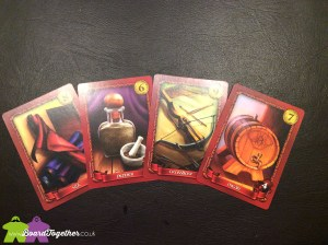 Sheriff of Nottingham, Contraband cards