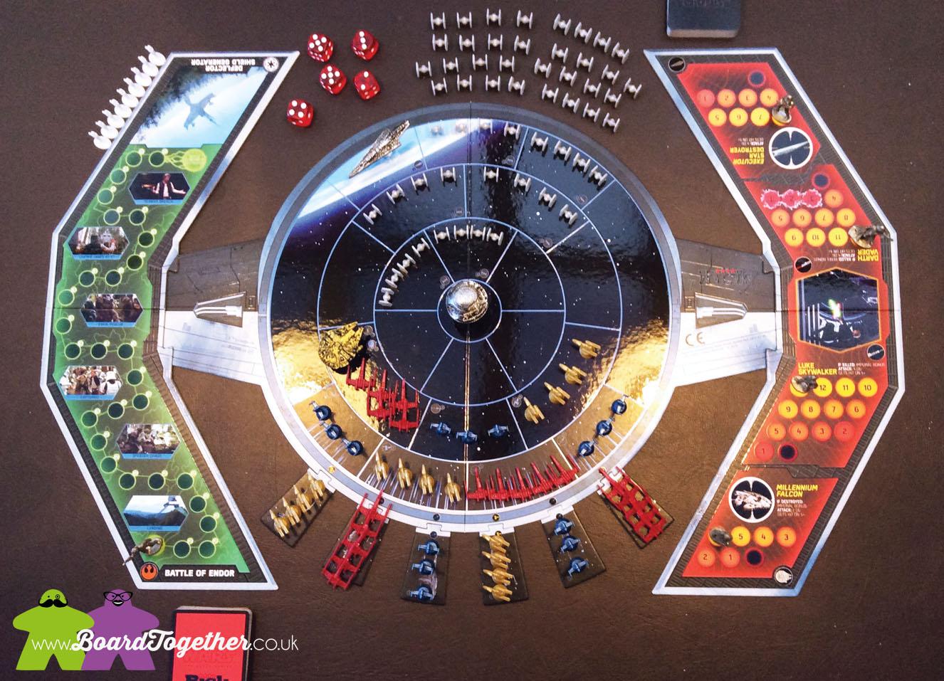 Disney Hasbro Star Wars Black Series Risk Game 2014 ...