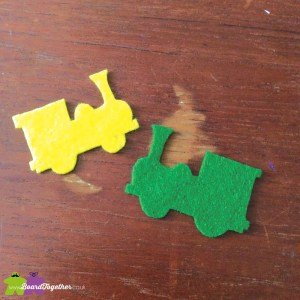 Felt Train cutouts