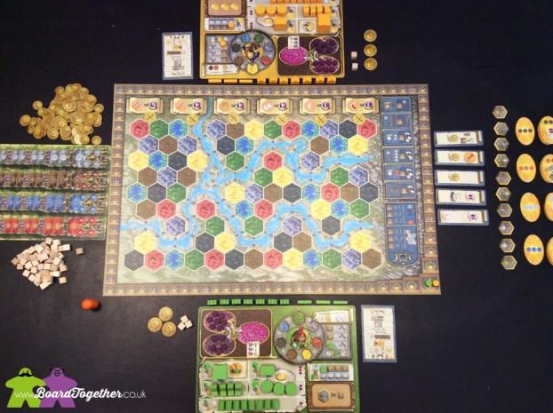 Terra Mystica Start of play
