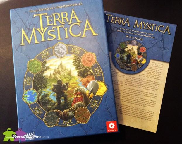 Terra Mystica Boardgame