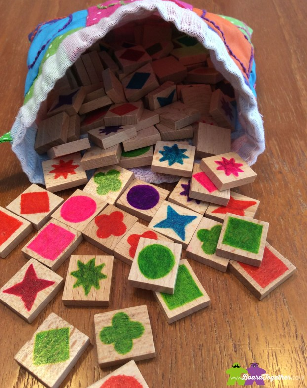 Qwirkle tiles everywhere!