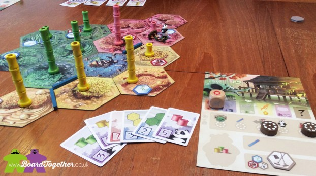 Playing Takenoko