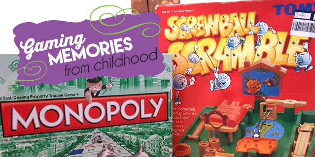Boardgame childhood memories