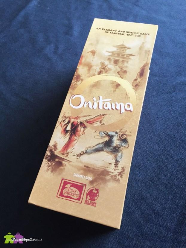 Onitama Boardgame