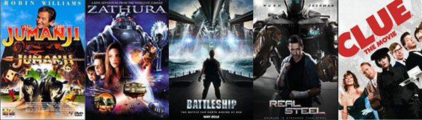 Boardgame Movies
