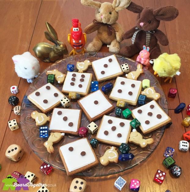 Dice Cookies