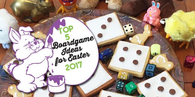 Boardgame Easter Activities 2017