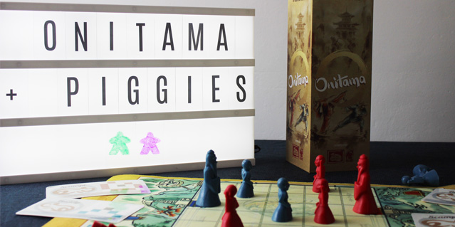 Onitama boardgame, custom cards