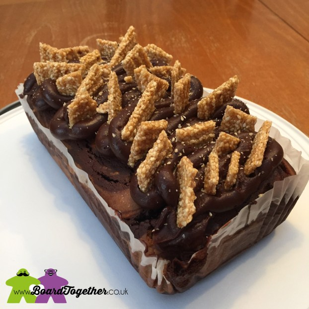 Chocolate & Sesame Cake