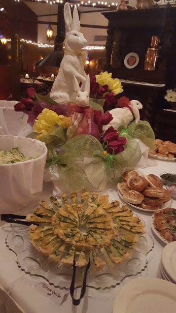Easter Buffet Boars Head Restaurant 2017 Quiche