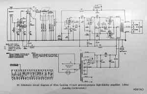Altec Lansing A323B Amplifier
