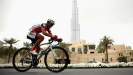 Dubai cycling bicycle race track, Boat Cruise Dubai, Dubai Cycling