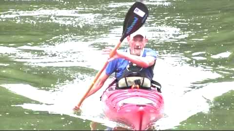 kayak exit for seniors
