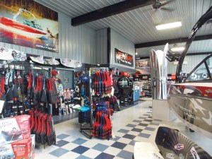 As part of a large renovation, Off Shore Marine expanded its pro shop and redesigned the interior of the store.
