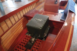 Elco manufactures 6 to 100 hp diesel equivalent motors that are used in boats up to 80 feet long.
