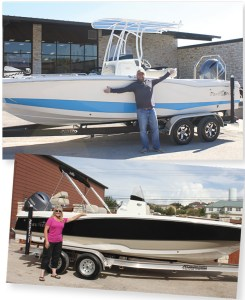 Austin Boats & Motors's delivery process is key to its customer service strategy.