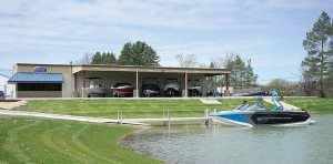 Buckeye Sports Center added a one-acre pond with a 20-foot wide concrete boat ramp and dock in 2015.