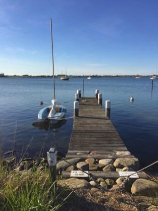 maasholm schlei Germany sky blue water boats